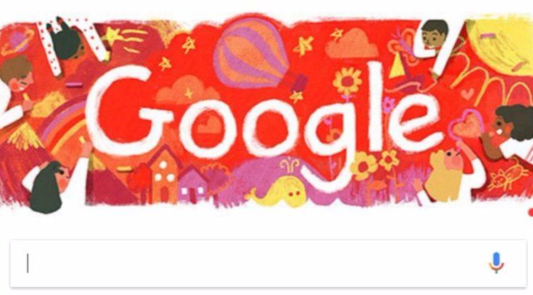 Google viert 'Dag van de Rechten van het Kind'