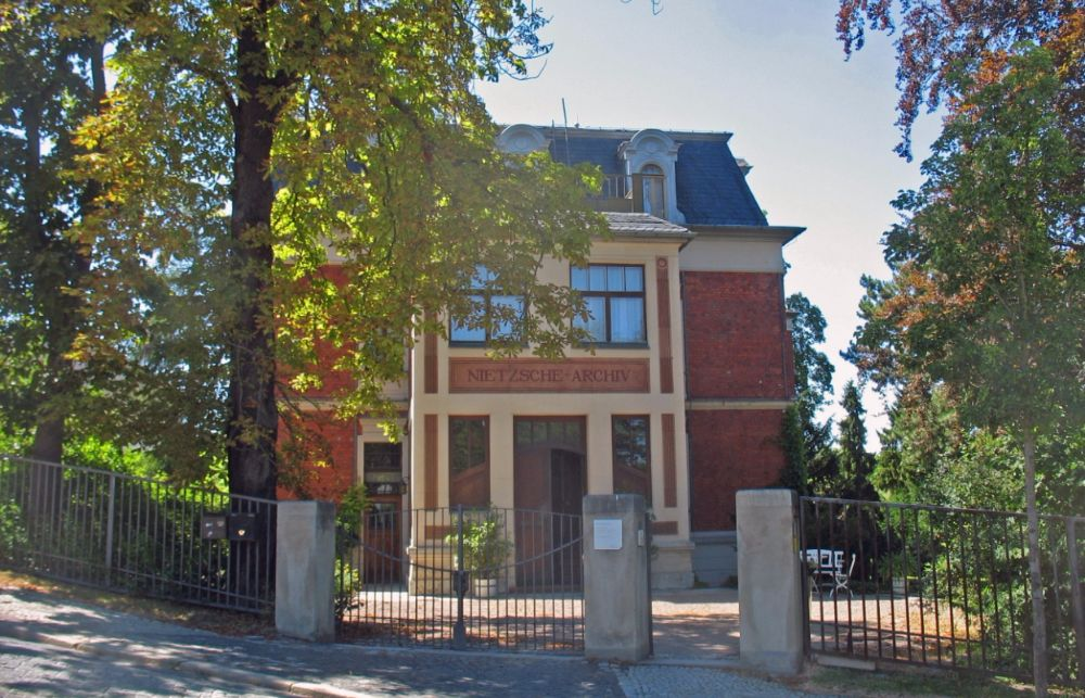 Huis in Weimar waar Nietzsche de laatste jaren van zijn leven woonde - cc