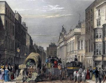 J Hopkins, Leadenhall Street, 1837