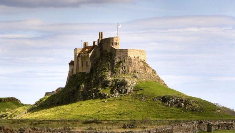 Kasteel van Lindisfarne - cc