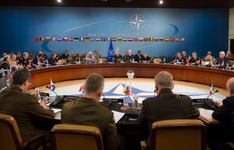 NAVO-vergadering in Brussel