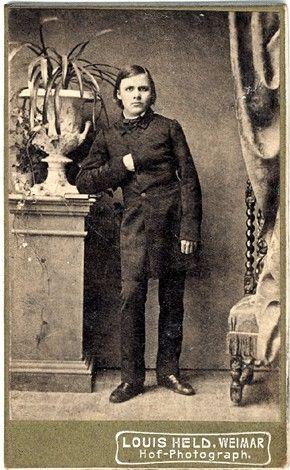 Nietzsche in 1861