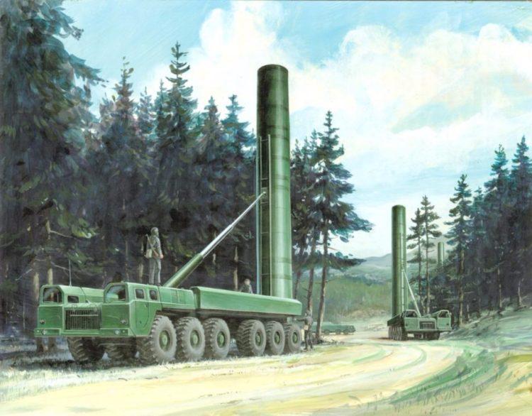 Russische SS20-raketten - cc