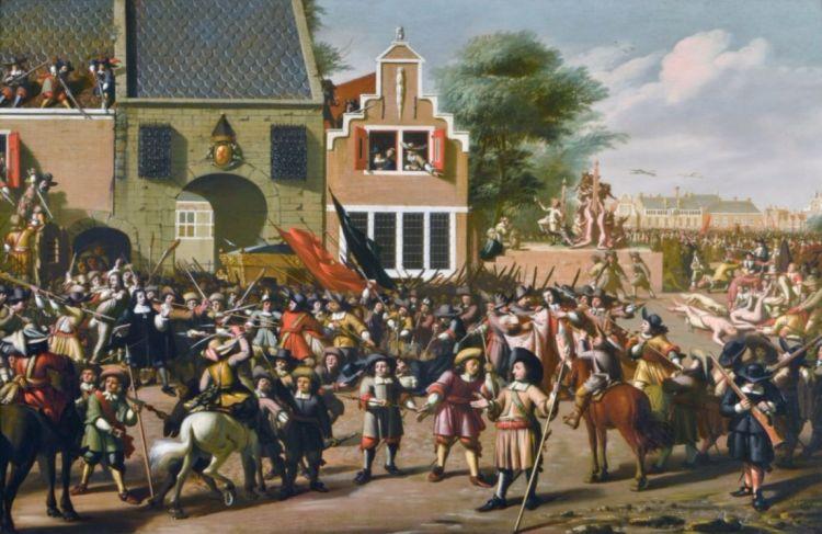 De moordpartij op de gebroeders De Witt in Den Haag (Haags Historisch Museum)