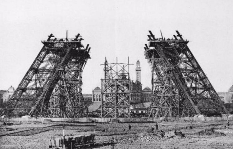 Bouw van de Eiffeltoren - cc