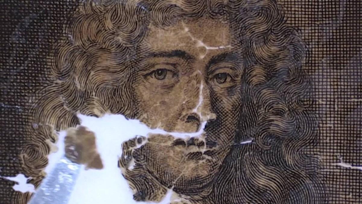 17de-eeuwse wereldkaart gevonden in Schotse schoorsteen