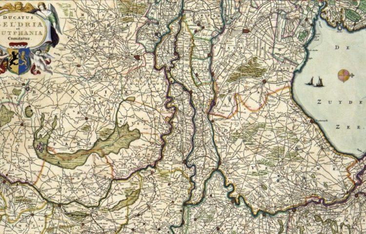 Ducatus Geldria et Zutphania Comitatus door Nicolaas Visscher