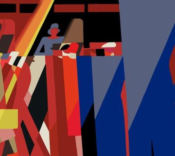 Elegante spoorwegaffiches van Leo Marfurt en Tom Purvis