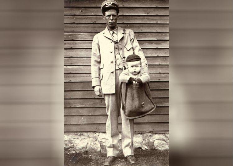 Je kind versturen via PostNL (Foto: Smithsonian)