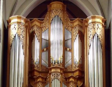 Orgel in de dekanale Kerk te Sint-Niklaas - cc
