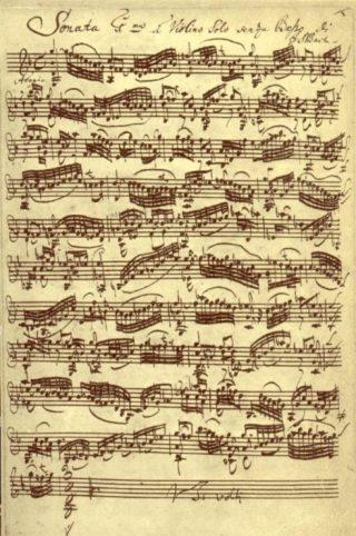 Sonata van Bach