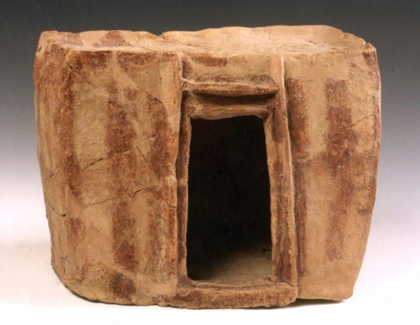 Model van een huis, vroege Bronstijd - 3000-2650 voor Christus - © The Israel Museum, Jerusalem Photo: Avraham Hay