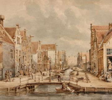 Amsterdam Jordaan (Lutgers, 1857)