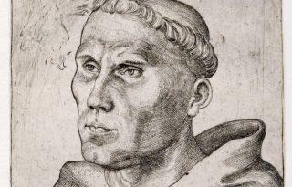 Maarten Luther als augustijnermonnik - cc