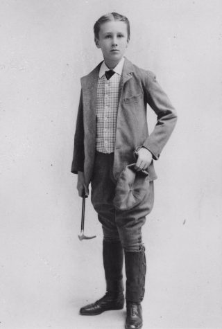Roosevelt in 1893, op 11-jarige leeftijd