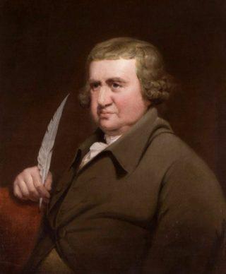 Erasmus Darwin op 61-jarige leeftijd. (Bron: Wikipedia)
