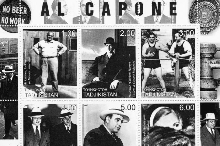 postzegels van al capone