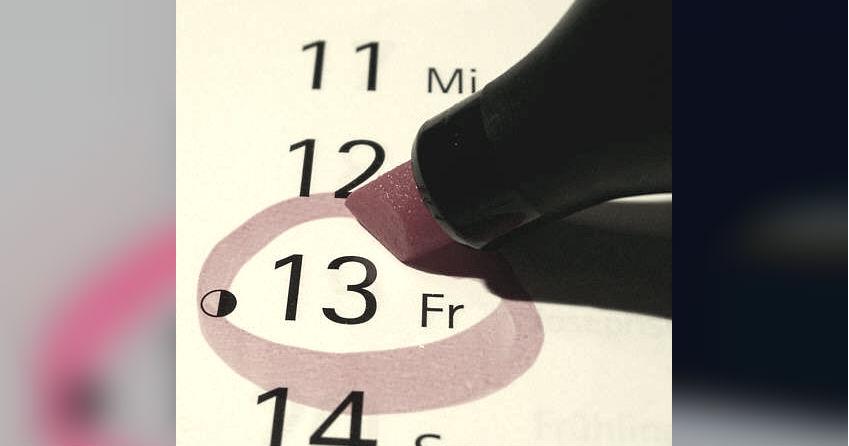 Korte geschiedenis van 'vrijdag de dertiende'
