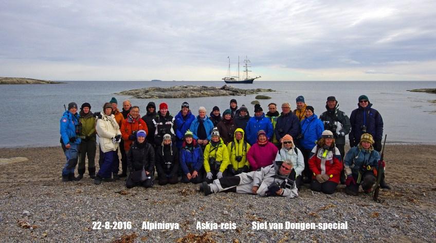 Alpini groep Askja. Foto: Michelle van Dijk