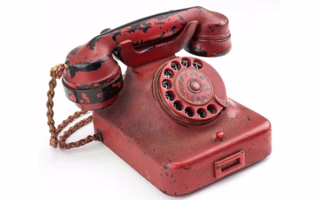 250.000 dollar voor telefoon Adolf Hitler