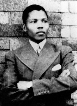 Nelson Mandela in 1937
