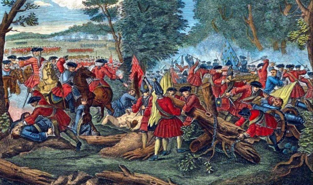 De bijzonder bloedige Slag bij Malplaquet (1709)