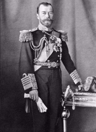 Tsaar Nicolaas II in 1909