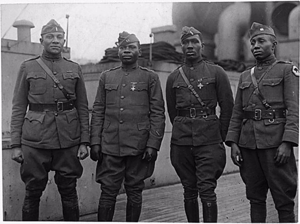 Afro-Amerikanen die dienden tijdens de Eerste Wereldoorlog - cc