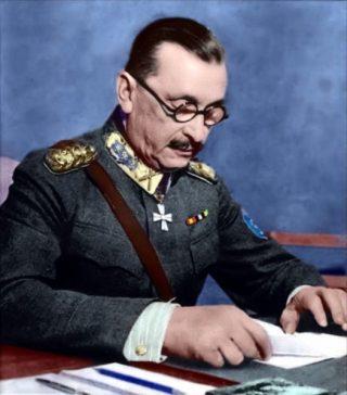 Carl Mannerheim in 1943
