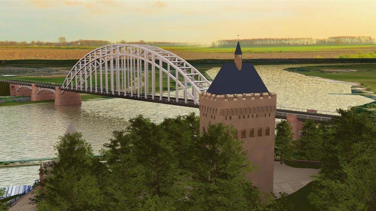 Nijmegen krijgt replica van vijftig meter hoge donjon