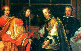 Ondertekening van het verdrag van de Pyreneeën