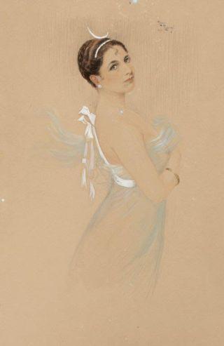 Portret van Mata Hari