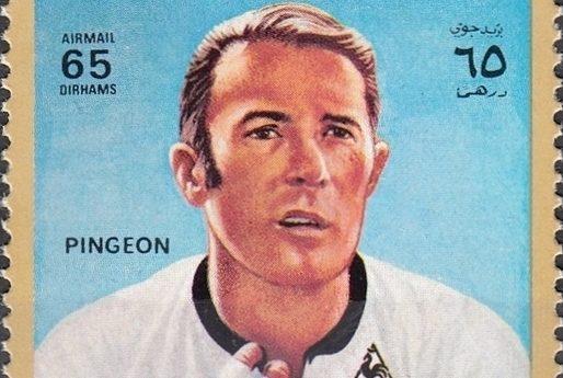 Roger Pingeon op een postzegel uit 1972