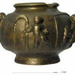 Romeins balsarium met badhuisscene - 2de of 3de eeuw na Chr (ADC)