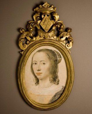 Zelfportret in pastel, 1640 (Museum Martena)