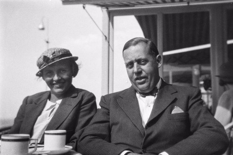 Annemie en Helmuth Wolff, Amsterdam, jaren dertig - Fotograaf onbekend, coll. Monica Kaltenschnee