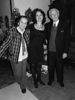 Ingrid en Willem met dochter Isabel, 2011