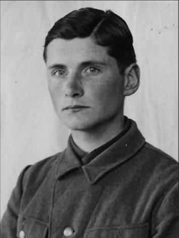 Willem als Waffen-SS rekruut, 1940. Bron: oorlogsouders