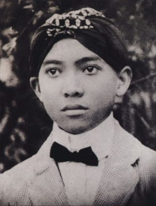 De jonge Soekarno (1916)
