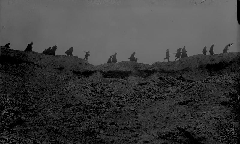 Het Sommefront en Tolkiens Mordor
