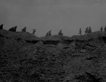 Foto gemaakt tijdens de Slag om de Somme - cc