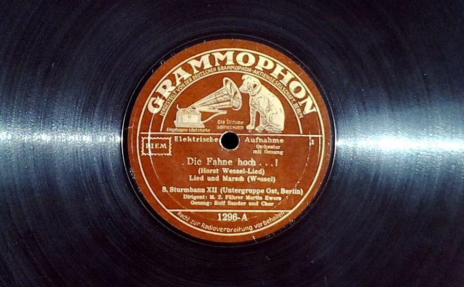 Horst Wessel-lied op galafeest Juliana en Bernhard (1937)