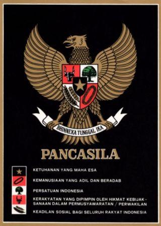 Pancasila-poster