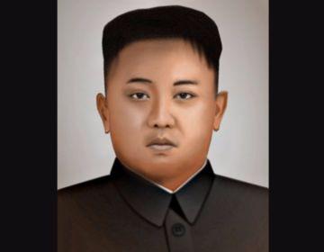 Portret van Kim Jong-Un