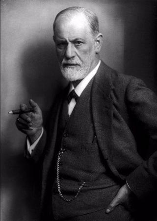 Sigmund Freud in 1921 (Foto van Max Halberstadt)