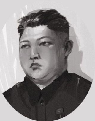 Tekening van Kim Jong-un (cc)