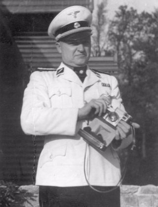 Karl Otto Koch, de gevreesde commandant van Buchenwald. U.S. National Archives / Publiek Domein