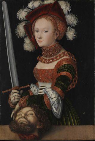 Judith met het hoofd van Holofernes - Lucas Cranach de Oude, 1530
