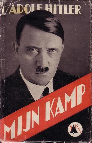 'Mijn Kamp', de Nederlandse uitgave van Mein Kampf