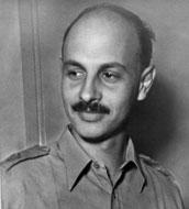 Archeoloog en Israëlisch politicus Yigael Yadin